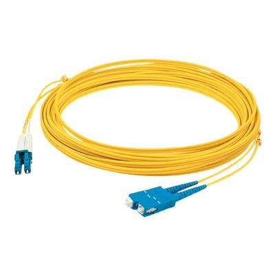AddOn 10m LC to SC OS1 Yellow Patch Cable - cordon de raccordement - 10 m - jaune  CABL