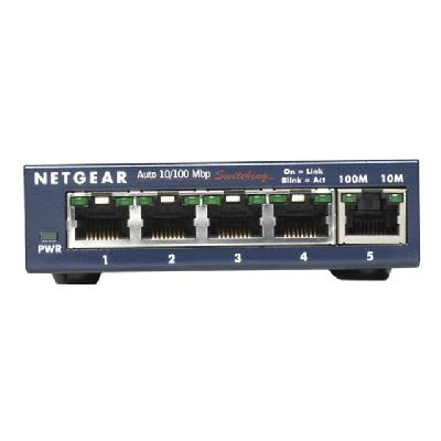 NETGEAR FS105 10/100 Desktop Switch - switch - 5 ports (English / Canada, United States)  PERP