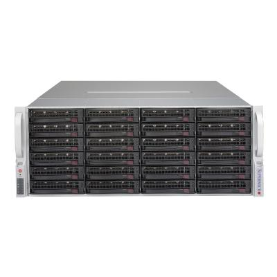 Supermicro SC847 BA-R1K28LPB - rack-mountable - 4U - enhanced extended ATX  RM