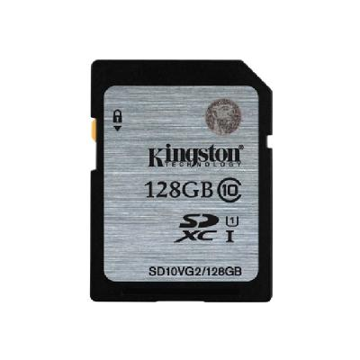 Kingston - flash memory card - 128 GB - SDXC UHS-I s Read Flash Card