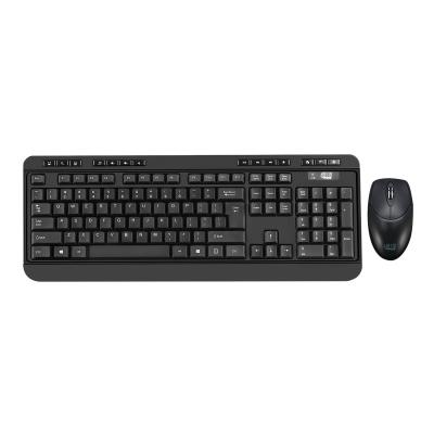 Adesso EasyTouch WKB-1320CB - keyboard and mouse set - QWERTY - US p keyboard & mouse combo