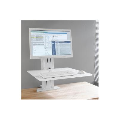 Ergotron WorkFit-SR Rear Mount Single Sit-Stand Workstation - mounting kit - for LCD display / keyboard / mouse