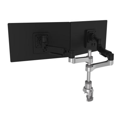 R-Go Caparo 4 Twin - mounting kit - for 2 LCD displays ARM (FOR MONITORS 6.6 - 19.8 L BS EACH)