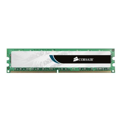 CORSAIR Value Select - DDR2 - 2 GB: 2 x 1 GB - DIMM 240-pin - unbuffered Unbuffered  CL4