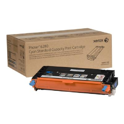 Xerox Phaser 6280 - cyan - original - toner cartridge  pages - Phaser 6280 ser 6280