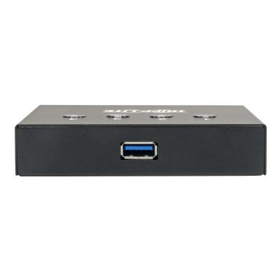 Tripp Lite 4-Port 2 to 1 USB 3.0 Peripheral Sharing Switch SuperSpeed - USB peripheral sharing switch - 4 ports  PERP