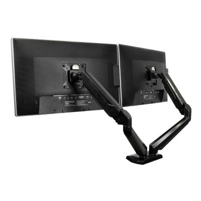 StarTech.com Desk Mount Dual Monitor Arm - One-Touch Height Adjustment (ARMSLIMDUO) - mounting kit - for LCD display (adjustable arm) B & AUDIO PASSTHROUG