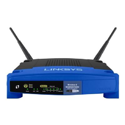 Linksys WRT54GL - wireless router - 802.11b/g - desktop 02.11g Linux-based