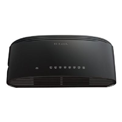D-Link DGS 1008G - switch - 8 ports - unmanaged  10/100/1000  DESKTO