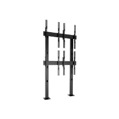 Chief Fusion LBM2X2UP 2 x 2 Portrait Micro-Adjustable Large Bolt-Down Freestanding Video Wall - mounting kit justable Large Bolt-Down Frees tanding Video Wall