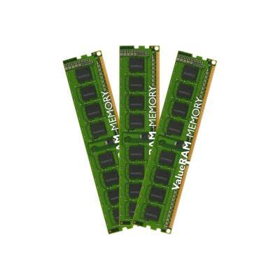Kingston ValueRAM - DDR3 - 24 GB: 3 x 8 GB - DIMM 240-pin - unbuffered  MEM