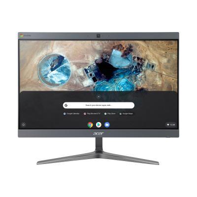 """Acer Chromebase CA24I2 - all-in-one - Celeron 3867U 1.8 GHz - 4 GB - SSD 128 GB - LED 23.8"""" (Region: United States) ) Intel Celeron 3867U 1.8G 15W  Y0 Kaby"""