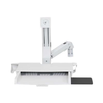 Ergotron StyleView Sit-Stand Combo Arm with Worksurface - mounting kit - for LCD display / keyboard / mouse / CPU