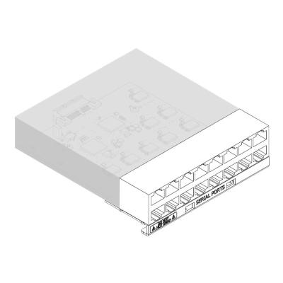 Lantronix SLC 8000 16 Device Port RJ45 I/O Module - expansion module  PERP
