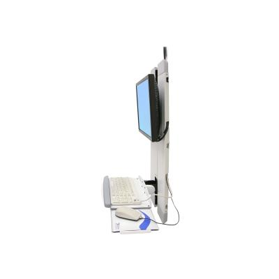 Ergotron StyleView Vertical Lift High Traffic Areas - mounting kit (low profile) TRAFFIC AREA WHT