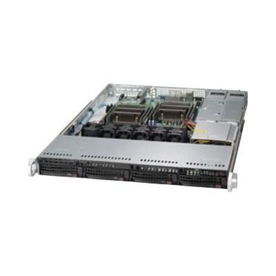 Supermicro SC815 TQC-R706CB - rack-mountable - 1U - extended ATX  RM