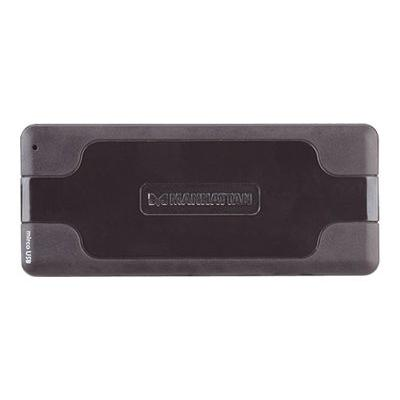 Manhattan Hi-Speed USB 2.0 Pocket Hub - hub - 7 ports