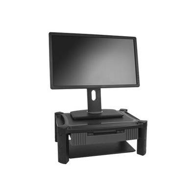 "StarTech.com Adjustable Monitor Riser - Drawer - Monitors up to 32""- Adjustable Height - Monitor Stand - Computer Monitor Riser (MONSTADJD) - stand - for monitor"