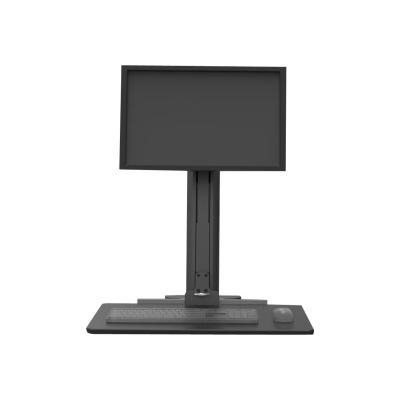 Compulocks Sit Stand Single Monitor Workstation VESA - mounting kit desk into an ergonomic sit sta nd workstation. Sing