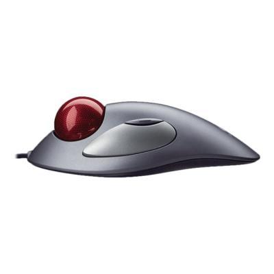 Logitech Trackman Marble - trackball - PS/2, USB - dark silver  ACCS