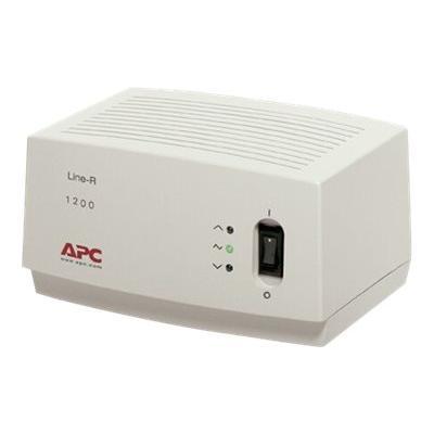 APC Line-R 1200VA - automatic voltage regulator - 1200 VA ECPNT