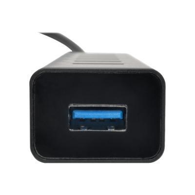Tripp Lite 7-Port USB 3.0 SuperSpeed Hub/Splitter Portable Aluminum 5 Gbps - hub - 7 ports SPLITTER PORTABLE AL