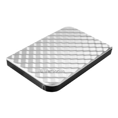 Verbatim Store 'n' Go Diamond Series - hard drive - 1 TB - USB 3.0 rive Diamond Series  USB 3.0 -  Silver
