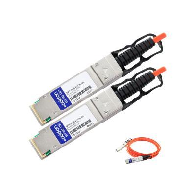 AddOn 1m Cisco Compatible QSFP+ AOC - 40GBase direct attach cable - 1 m MCABL