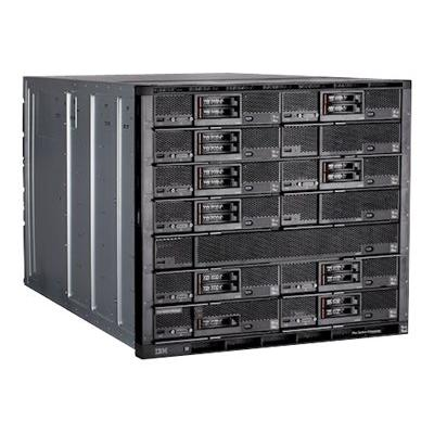 Lenovo Flex System Enterprise Chassis 8721 - rack-mountable - 10U - up to 14 blades (English / North America)  SYST
