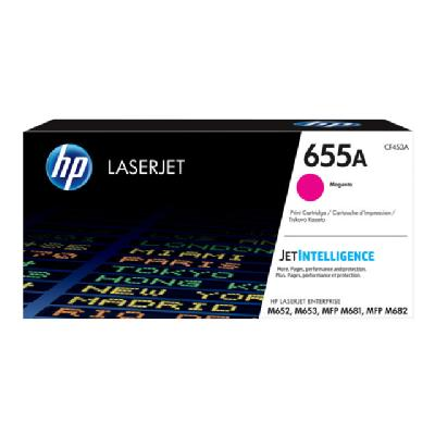 HP 655A - magenta - original - LaserJet - toner cartridge (CF453A) ER CART