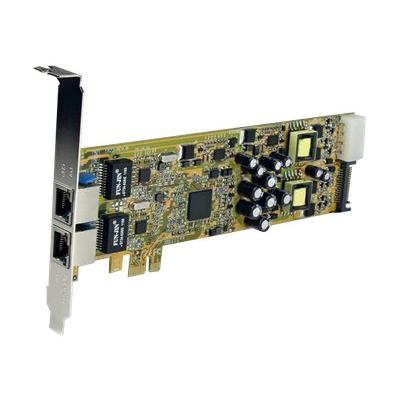StarTech.com Dual Port PCI Express Gigabit Ethernet Network Card Adapter - 2 Port PCIe NIC 10/100/100 Server Adapter with PoE PSE (ST2000PEXPSE) - network adapter - PCIe - Gigabit Ethernet x 2
