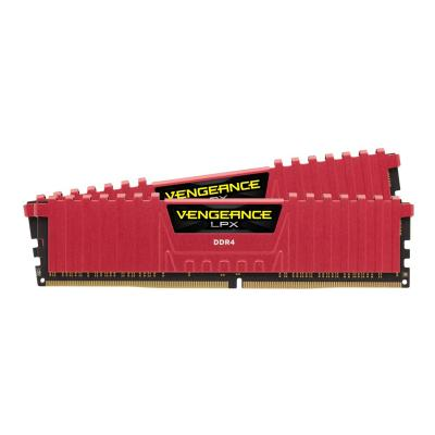 CORSAIR Vengeance LPX - DDR4 - 8 Go: 2 x 4 Go - DIMM 288 broches - mémoire sans tampon  ddr4   2400mhz   non-amorti  16-16 -16 -39   ven