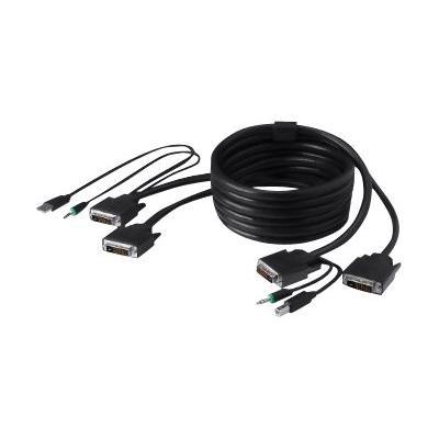 Belkin Secure KVM Cable Kit - video / USB / audio cable kit - 4.6 m - B2B  CABL