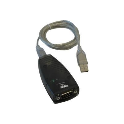 Tripp Lite Keyspan High Speed USB to Serial Adapter - serial adapter - USB - RS-232 - TAA Compliant ADAPTER