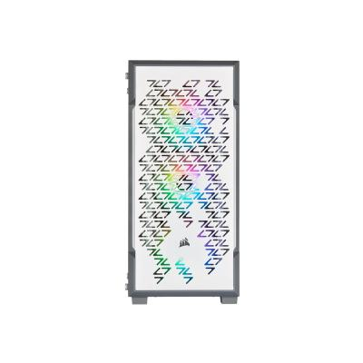CORSAIR iCUE 220T RGB Airflow - tower - ATX Tempered Glass Mid-Tower Smart  Case  White