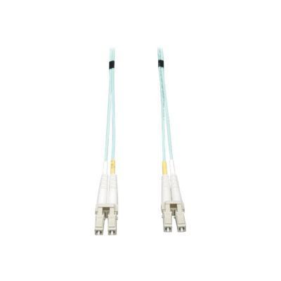 Tripp Lite 2M 10Gb Duplex Multimode 50/125 OM3 LSZH Fiber Patch Cable LC/LC Aqua 2 Meters - patch cable - 1.83 m - aqua M3 LSZH Fiber Patch Cable (LC/ LC) - Aqua  2M (6-ft