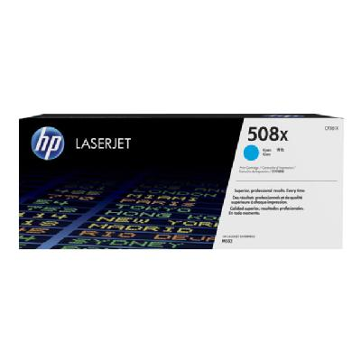HP 508X - High Yield - cyan - original - LaserJet - toner cartridge (CF361X) IDGE