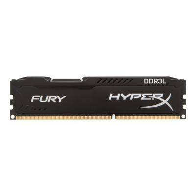HyperX FURY - DDR3L - 8 GB: 2 x 4 GB - DIMM 240-pin - unbuffered  MEM