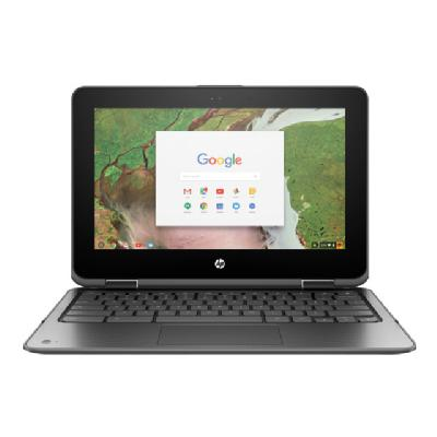 "HP Chromebook x360 11 G1 - Education Edition - 11.6"" - Celeron N3350 - 4 GB RAM - 32 GB SSD - US (Language: English / region: United States)  32GB SBY"