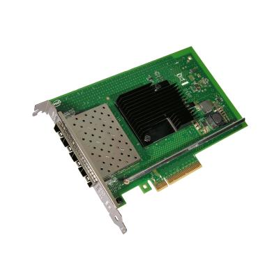 Intel Ethernet Converged Network Adapter X710-DA4 - network adapter - PCIe 3.0 x8 - 10 Gigabit SFP+ x 4 rk Adapter  10 GigE  4x SFP+ D irect Attached Twin
