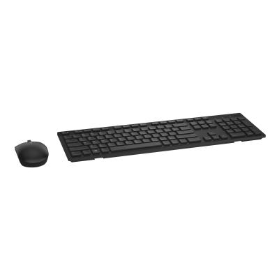 Dell KM636 - keyboard and mouse set - black - wireless  WRLS