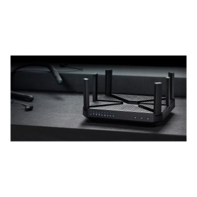 TP-Link Archer C4000 - wireless router - 802.11a/b/g/n/ac - desktop Router  1.8GHz quad-core CPU 750Mbps on 2.4GHz  1