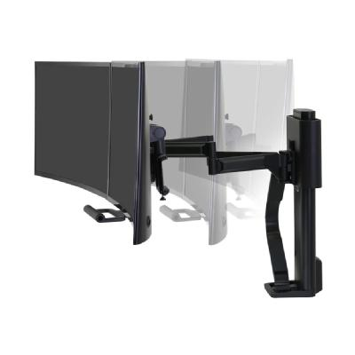 Ergotron TRACE - mounting kit - for 2 LCD displays  BLK