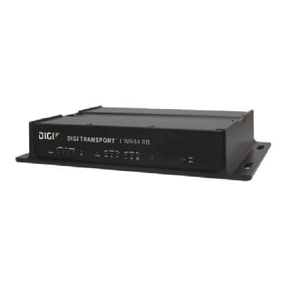 Digi TransPort WR44RR - wireless router - WWAN - 802.11a/b/g/n/ac - desktop (North America, EMEA) PS  4-pin Ethernet  WiFi (A/C)   Enterprise Softwar