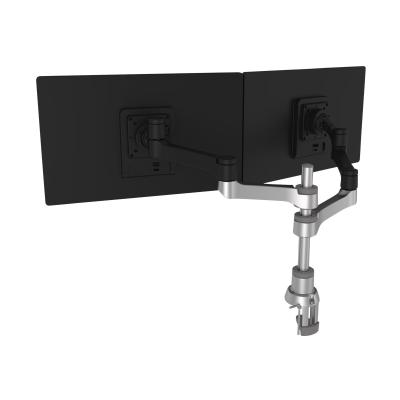 R-Go Zepher 4 - mounting kit - for 2 LCD displays ARM (FOR MONITORS 0 - 17.6 LBS  EACH)