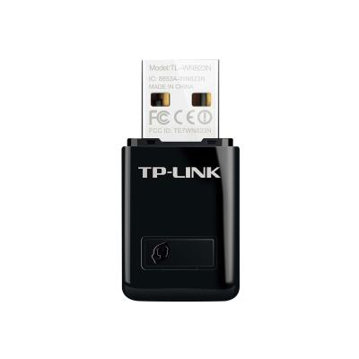 TP-Link TL-WN823N - network adapter apter  Mini Size  Realtek  2T2 R  2.4Ghz  802.11b/g