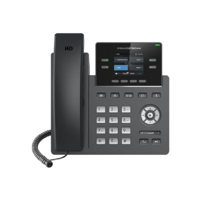 Grandstream GRP2612P - VoIP phone with caller ID/call waiting - 3-way call capability GRP2612 is a powerful 2-line c arrier-grade IP phon