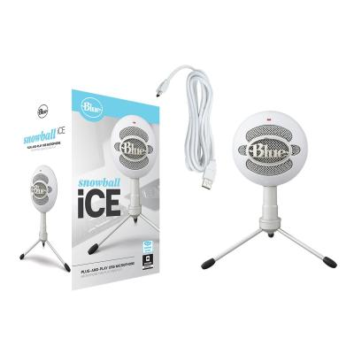 Blue Microphones Snowball ICE - microphone Snowball CCE USB Mic-WHITE-USB -N/A-AMR-83621300197