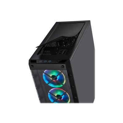 CORSAIR iCUE 465X RGB - tower - ATX r ATX Smart Case  Black