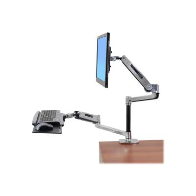 Ergotron LX Sit-Stand Desk Arm - mounting kit - for LCD display